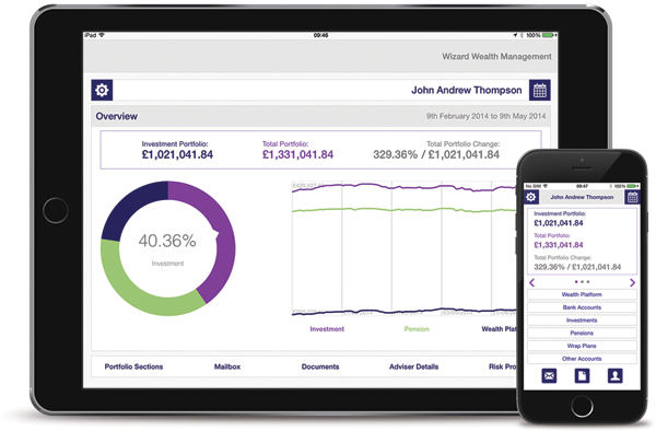 personal client website, financial planning, financial planning management, London, UK